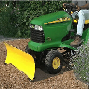 Front blade for JD X300 Lawn Tractor