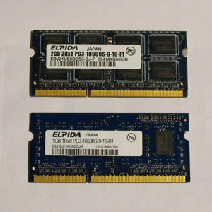 DDR3 Laptop RAM kits (3 different sets)