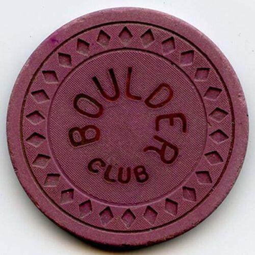 Boulder Club Casino, Las Vegas -  25c Chip -1931