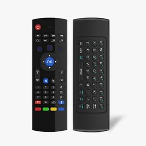 2.4G Wireless Six Axis Gyroscope Full Keyboard Air Mouse Remote