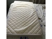 Cot mattress good clean condition