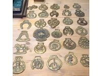 House clearance- selection of horse brasses