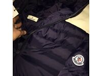 Moncler Puffer Jackets Black & Navy M L XL Brand New