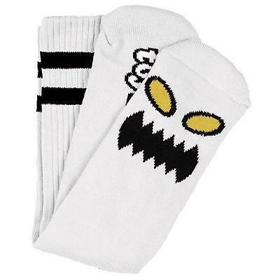 New Toy Machine Monster Face White Men's Socks - (1 Pair) Toy Machine Monster Socks