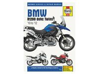 BMW R 1200 RT LC ABS 2013-2014 Haynes Service Repair Manual 6281