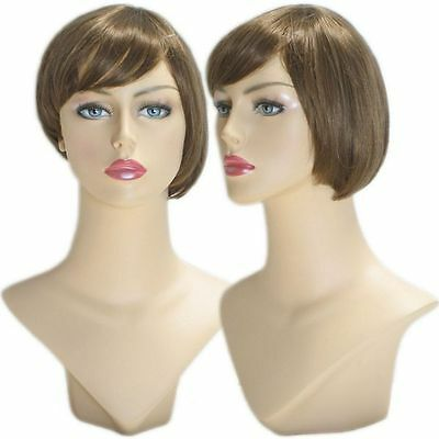 WG-040 Brunette Awa Wig (Halloween/Party/Costume/Cosplay) Wig - Halloween Wg Party