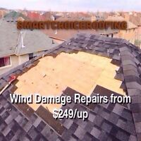Are you Missing Shingles? Do you have a Leak in your Roof?