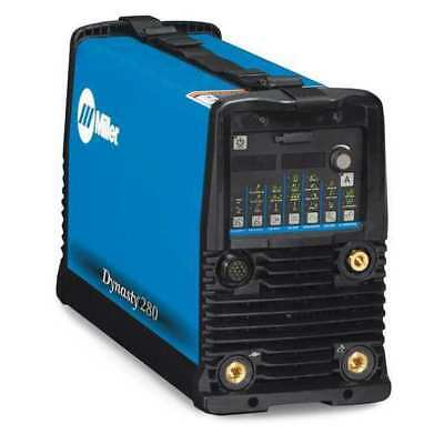 MILLER ELECTRIC 907514 Tig Welder, AC/DC, 1 to 280A, Dynasty