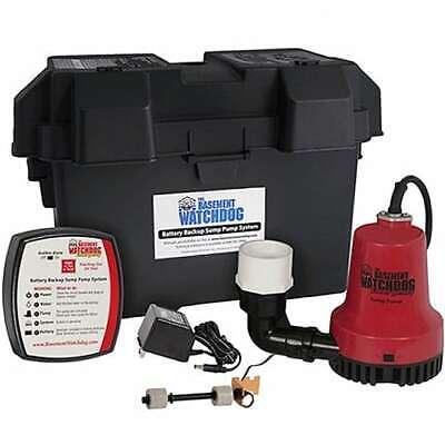 Basement Watchdog Bwe - Emergency Backup Sump Pump 1000 Gph 10