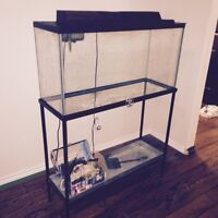 33 gal tank with stand
