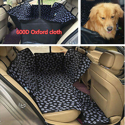 Hot Car Back Rear Seat Mat Cover Pet Dog Travel Hammock Protector Safety Cushion
