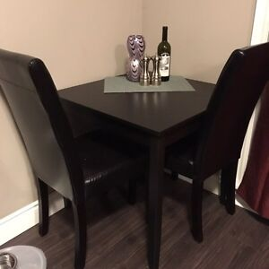 Dining Table With Two Chairs