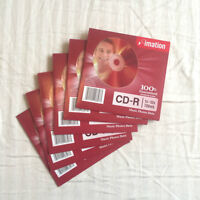 6 Blank Brand New - 3M IMATION CD-ROMs
