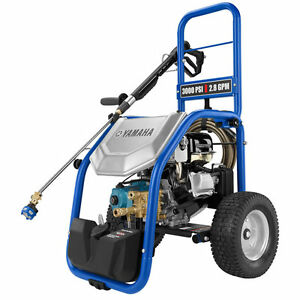 New Yamaha Pressure Washers PW3028