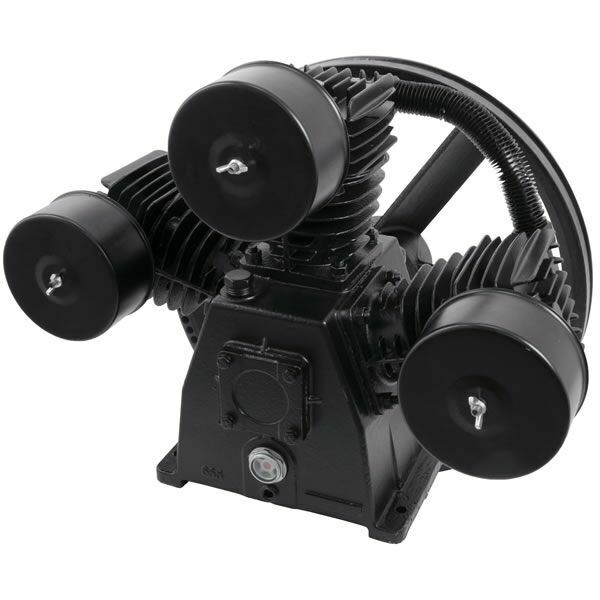 Industrial Air 4.7-hp Single-stage Hi-flo 3-cylinder Replacement Air Compress...