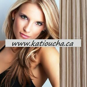 """CLIP IN ON HAIR EXTENSION CLIP,24"""", 60 CM,STRAIGH,Like REAL HAIR Yellowknife Northwest Territories image 9"""