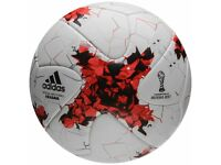 Official match ball Russia 2017 adidas Krasava white and orange