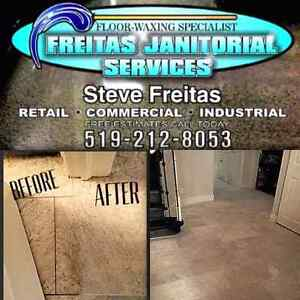 Offering Floor waxing and Janitorial services and maintenance Kitchener / Waterloo Kitchener Area image 8