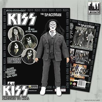 KISS Dressed To Kill 8 Inch Action Figure Ace Frehley Spaceman