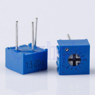 10pcs 3362p-102 3362 P 1k Ohm High Precision Variable Resistor Potentiometer Tw