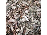 Garden Bark / Play Bark / Bark Mulch - Mitchell Turf Scotland