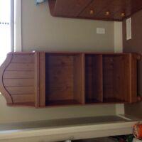 Tall bookshelf or display unit