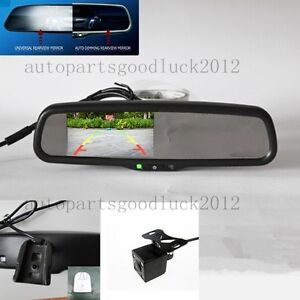 auto dimming rearview mirror 4 3 reversing display camera interior car mirror. Black Bedroom Furniture Sets. Home Design Ideas