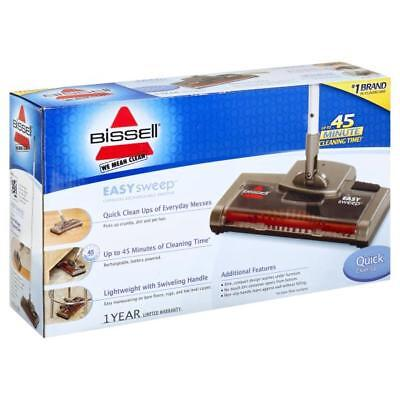 NEW BISSELL EasySweep Cordless Battery Powered Floor & Carpet Sweeper | 15D1A Battery Powered Carpet Sweeper