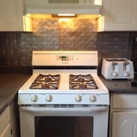 Maytag self cleaning gas stove