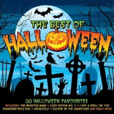 The Best Of Halloween 2-CD NEW SEALED Bobby Boris Pickett/Screaming Lord Sutch+ (Lorde Halloween)