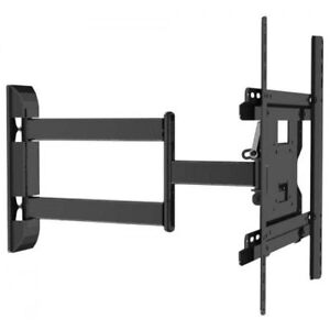 """FULLMOTION TV WALL MOUNT FOR 32""""-55"""" TVS HOLDS UP 30KG/66LBS"""