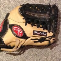 2 high end Rawlings ball gloves for a steal
