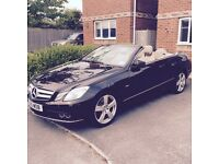 MERCEDES E CLASS CONVERTIBLE - LOW MILEAGE - LADY OWNER!!