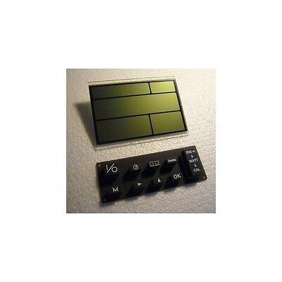 NEW Concept 2 PM2 monitor replacement LCD screen (1416) & rubber keypad buttons