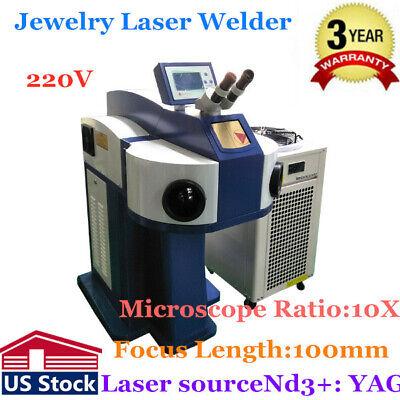 Usa Ac220v Laser Spot Welding Machine Jewelry Laser Welder