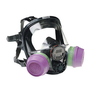 Honeywell 76008A Silicone full facepiece respirator   NEW