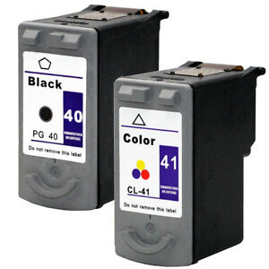 Canon PG-40 Black & CL-41 Color Remanufacture Ink Combo Set