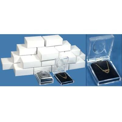 24 Clear Crystal Pendant Gift Boxes 2 34