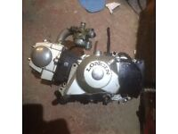 SOLD pending payment. Pit bike engine, spares or repair