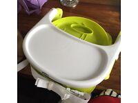 Chicco fold flat feeding chair