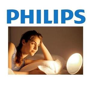 NEW PHILIPS WAKE UP LIGHT Wake-Up Light Coloured Sunrise Simulation, White 109005992