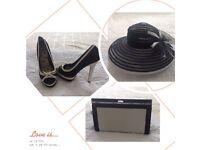Shoes, hat, bag