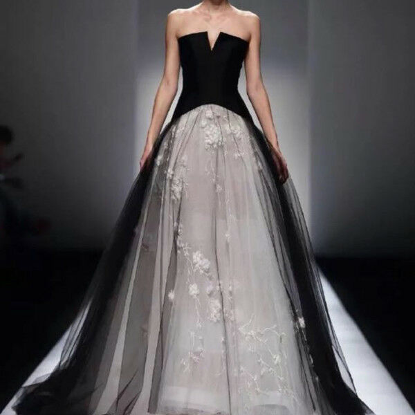 Black Swan Cocktail Dress Evening Gown