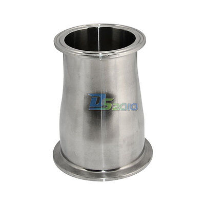 76mm To 51mm 3 To 2 Sanitary Ferrule Reducer Fitting Ss Sus 316 To Tri Clamp