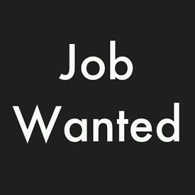OFFICE BASED WORK WANTED