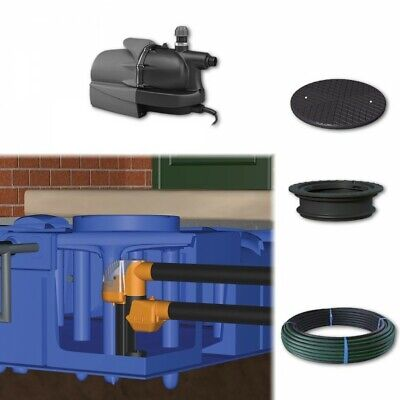 3000 litre Rainwater Harvesting System - Below Ground
