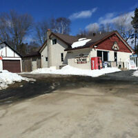 BUSY GAS BAR & VARIETY STORE FOR SALE - MUSKOKA