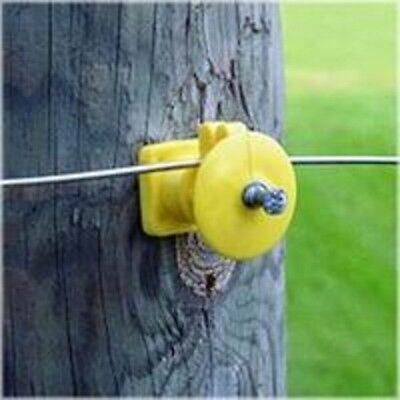 New Fi-shock Iwkny-fs 25 Post Electric Fence Insulators 0171405