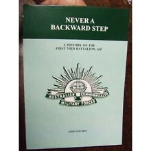 Never A Backward Step - John Edwards Pitt Town Hawkesbury Area Preview