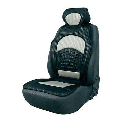 Hyundai Universal Schwarz 1Stk Sitzmatte Sitzkissen Schutz Autositz Sitzauflage